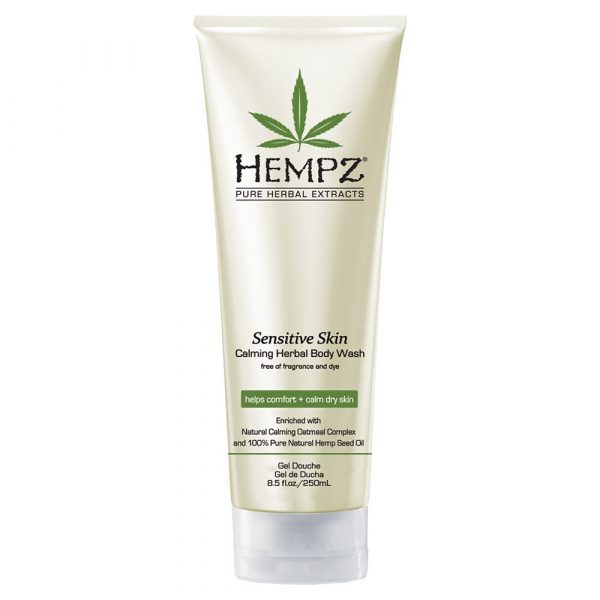 Hempz Sensitive Skin Calming Herbal Body Wash  9oz.