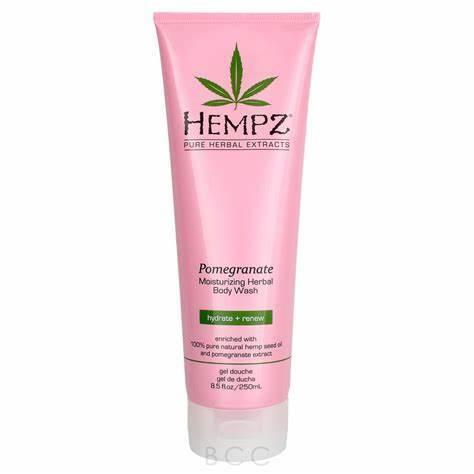 Hempz  Pomegranate Herbal Body Wash Size 9.0 oz
